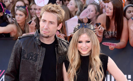 Avril Lavigne and Chad Kroeger Picture