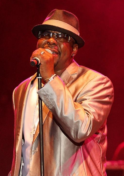 Bobby Brown Concert Picture