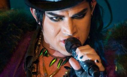 Adam Lambert Tweets Shaved Head, Top Hat Look