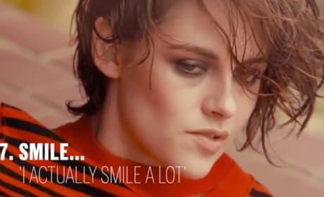 Kristen Stewart Claims She Smiles... Often!