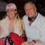 Hugh Hefner and His Wife