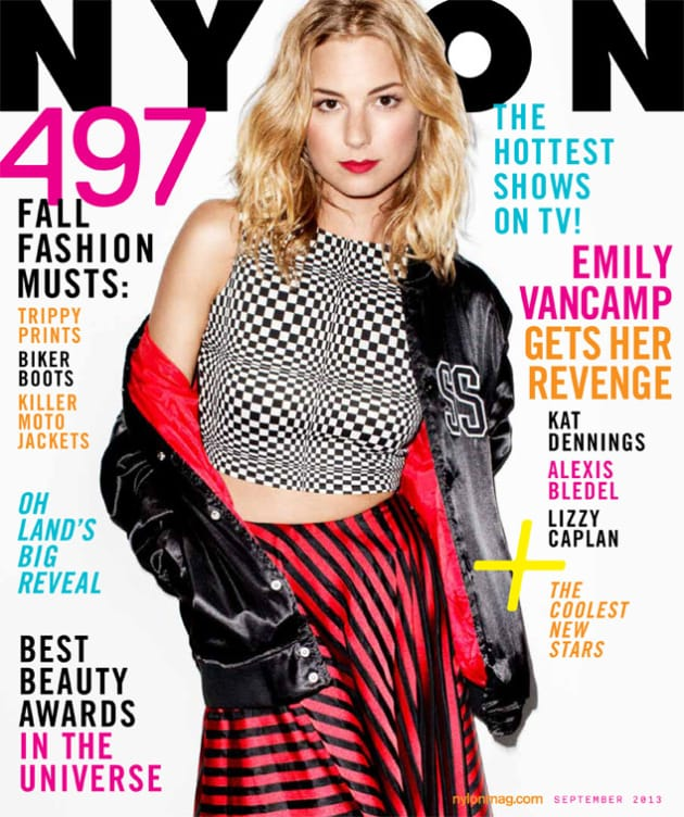 Emily VanCamp Nylon Cover