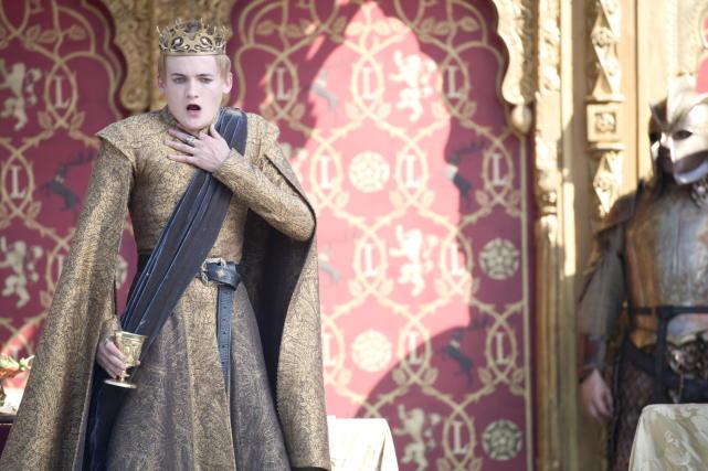 King Joffrey: Poisoned!