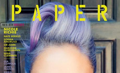 Nicole Richie Paper Magazine Cover