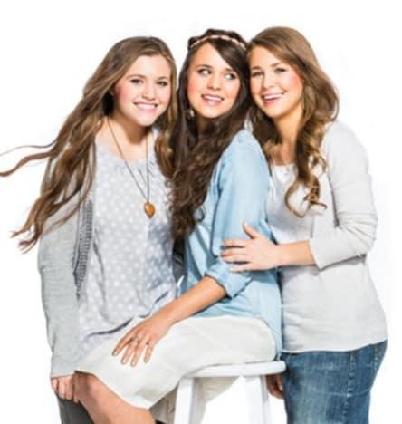 Joy, Jinger and Jana Duggar