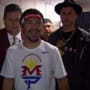Jimmy Kimmel with Manny Pacquiao