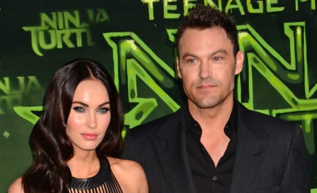 Megan Fox and Brian Austin Green Together