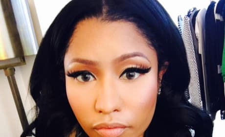 Nicki Minaj, Up Close on Instagram