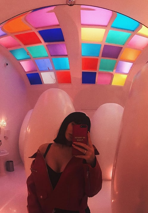 Kylie Jenner's Most Colorful Selfie