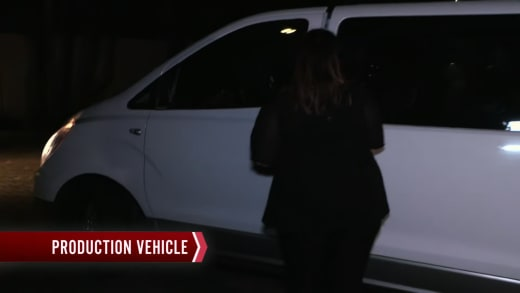 Tiffany Franco returns via production van