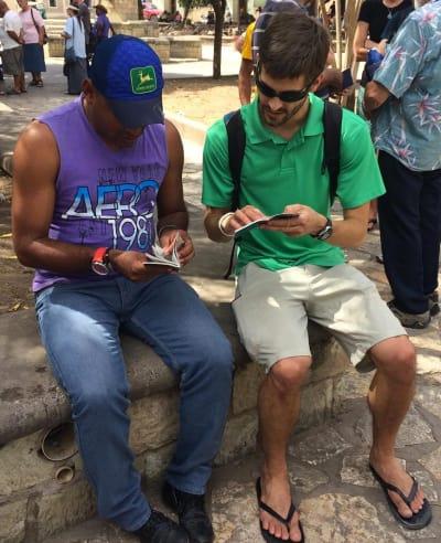 Derick in Central America