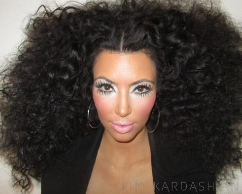 Kim Kardashian as Diana Ross