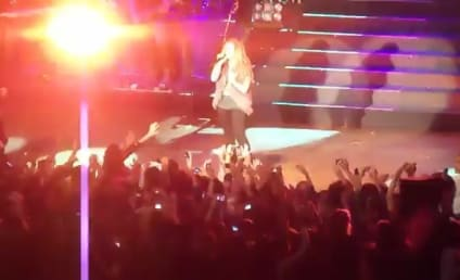 Demi Lovato: Attacked On Stage in Paraguay!