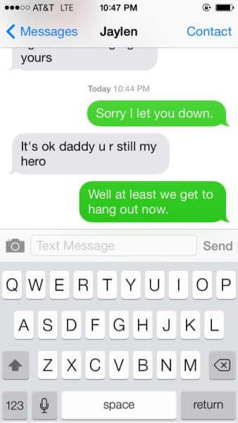 Shaun Phillips Text Exchange