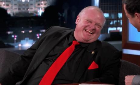 Rob Ford Gets Roasted on Jimmy Kimmel Live
