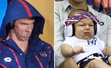 Like Phelps Father, Like Phelps Son