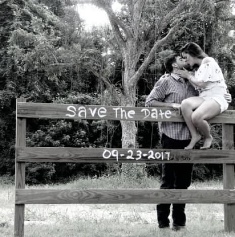 Jenelle Evans and David Eason Save the Date