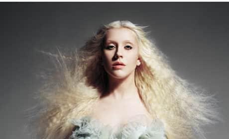 Christina Aguilera W Magazine Photo