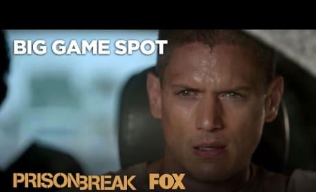 Prison Break Season 5 Super Bowl Teaser