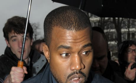 Kanye West Confused Photo