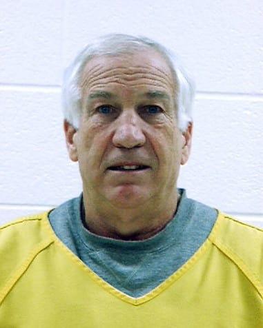 Jerry Sandusky Mug Shot