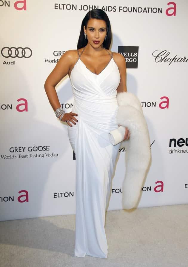 Pregnant Kim Kardashian Photo