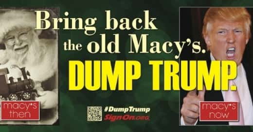 Dump Trump Billboard