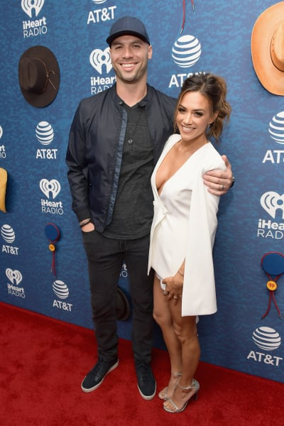 Mike Caussin and Jana Kramer Smile