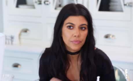 Kourtney Kardashian Stare