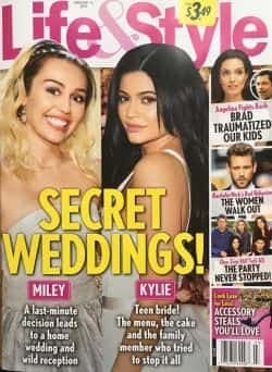 Kylie & Miley Life & Style Cover