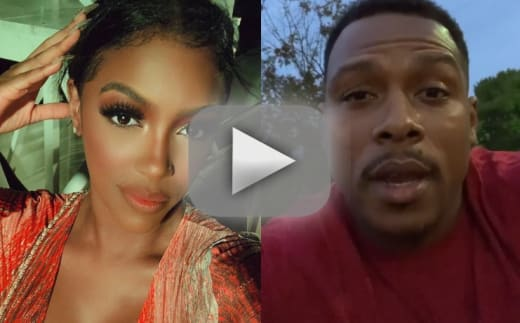Porsha williams im staying in touch with the male stripper from