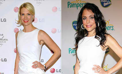 Fashion Face-Off: January Jones vs. Bethenny Frankel