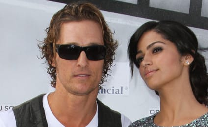 Matthew McConaughey and Camila Alves: Shopping for Necessities