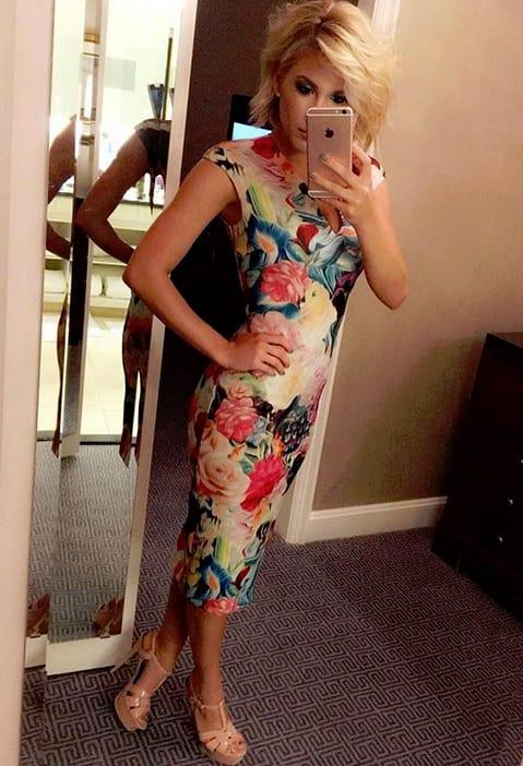 Savannah Chrisley, Mirror Selfie
