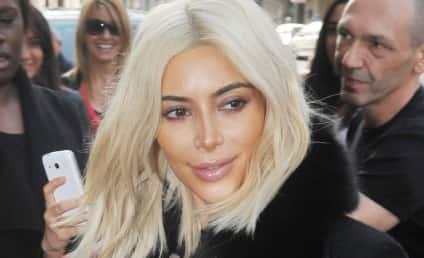 Kim Kardashian Turns White: Look at Her Hair Now!