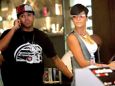 Chris Brown and Rihanna: Hot