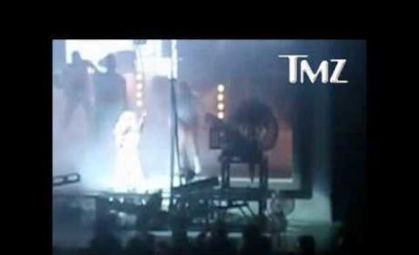 Gaga Goes Down