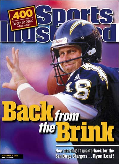 Ryan Leaf SI Cover
