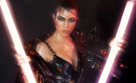 Kourtney Kardashian for V