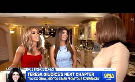 Teresa Giudice Talks About Juicy Joe In Prison, Starts To Cry