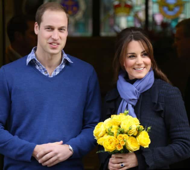 Pregnant Kate Middleton and Prince William