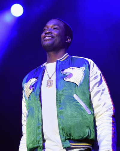 Meek Mill on Stage