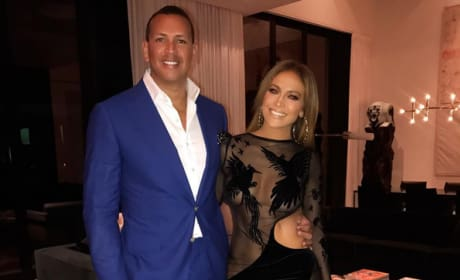 A-Rod and J Lo, Birthday Outfits