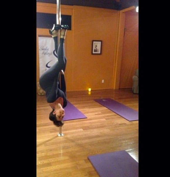 Kris Jenner Pole Dancing