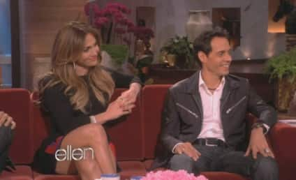 Jennifer Lopez and Marc Anthony on Ellen: Totes Friends!