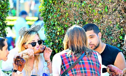Demi Lovato and Wilmer Valderrama: Spotted at Disneyland, Back Together?