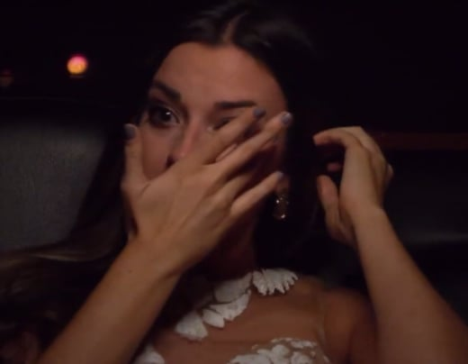 Tia Booth Cries