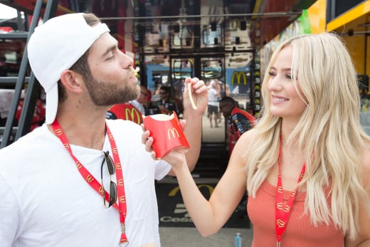 Devin Antin and Lauren Bushnell Eat French Fries