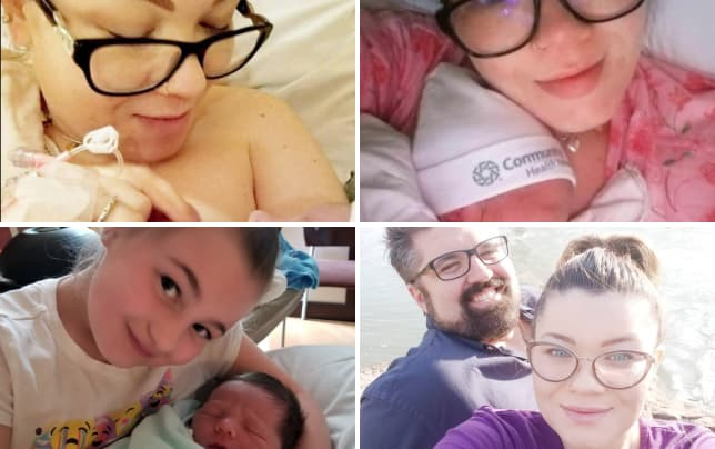 Amber portwood and son