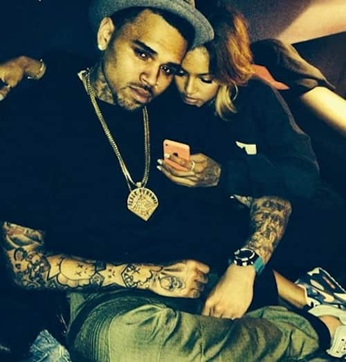 Chris Brown and Karrueche Tran Instagram